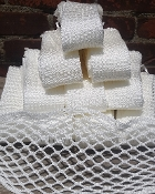 100 Pieces Raw/Soft Custom 10 Diamond Nylon Mesh