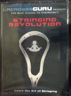 Lacrosse Guru Stringing Revolution DVD