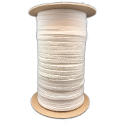 100 Yards White 10mm Shooting Lace