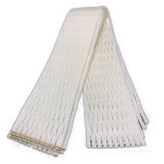 G3 Ultralight Semi-Soft White Lacrosse Mesh 5 Pack